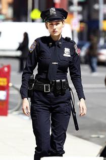 Women Police Officer in Uniform 21st Century