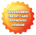 Goverment Credit Card Approved Vender